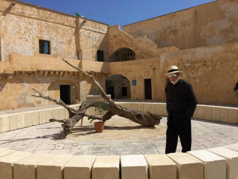 Il Terzo Paradiso, di Michelangelo Pistoletto, sarà in mostra a Gallipoli fino al 27 settembre