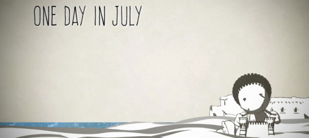 One day in july 2