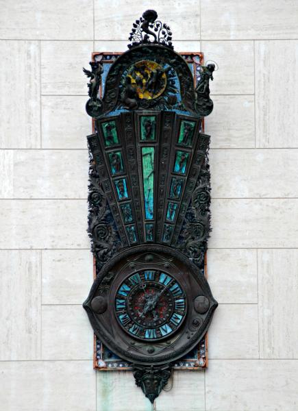 orologio meraviglie piazza sant'oronzo Lecce 1