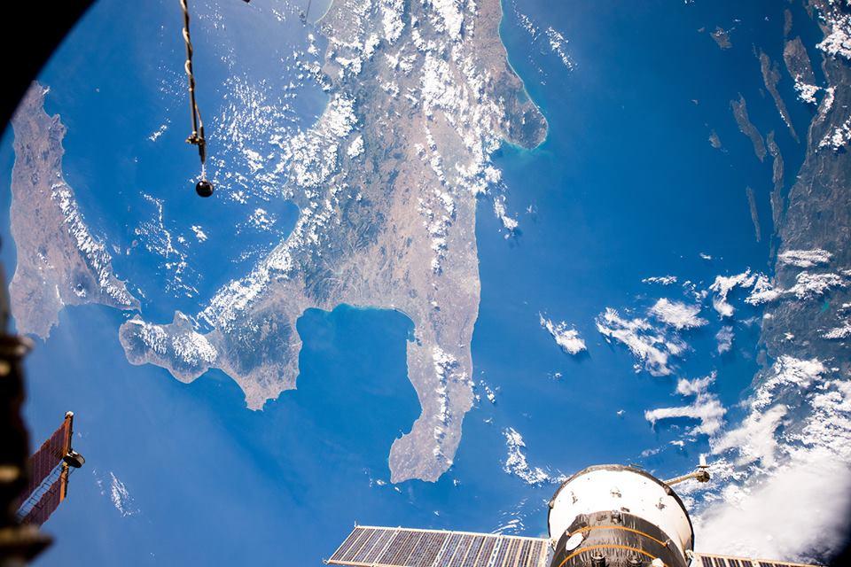 Puglia spazio stazione spaziale russa