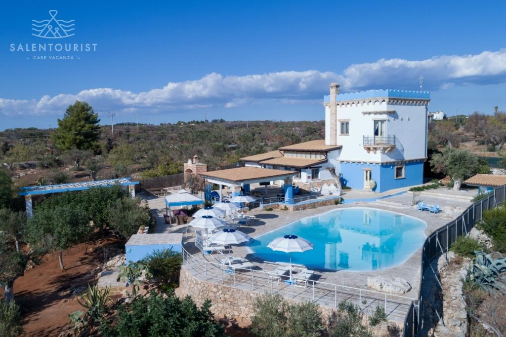 Salento alliste villa con piscina villa athena - Villa con piscina salento ...